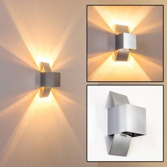 Kapstadt lampa ścienna Chrom, 1-punktowy