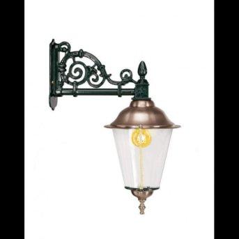 KS Verlichting Durgerdam Lampa ścienna Czarny, 1-punktowy