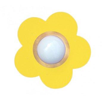 Waldi Fleur petit lampa sufitowa Żółty, 1-punktowy