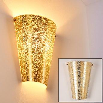 Zera Lampa ścienna Złoty, 1-punktowy