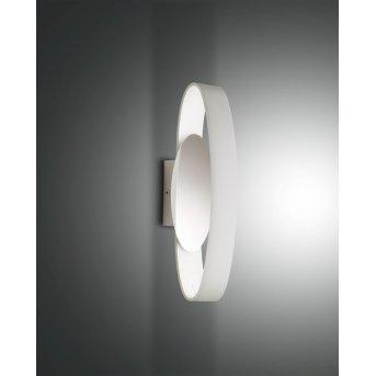 Fabas Luce Gaby Lampa ścienna LED Biały, 1-punktowy