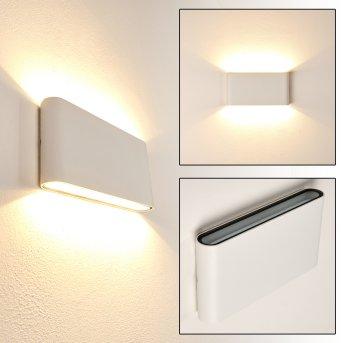 Marsh Zewnętrzny kinkiet LED Biały, 2-punktowe