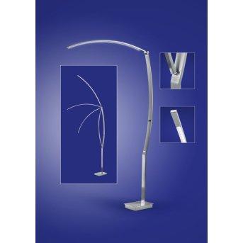B-Leuchten TREE Lampa Stojąca LED Nikiel matowy, Chrom, 1-punktowy