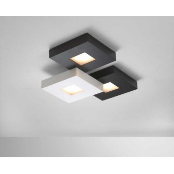 Bopp CUBUS lampa sufitowa LED Czarny, Biały, 3-punktowe