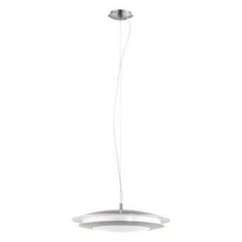 EGLO connect MONEVA-C Lampa Wisząca LED Nikiel matowy, 1-punktowy, Zmieniacz kolorów