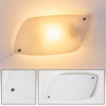 Anzio Lampa ścienna Biały, 1-punktowy