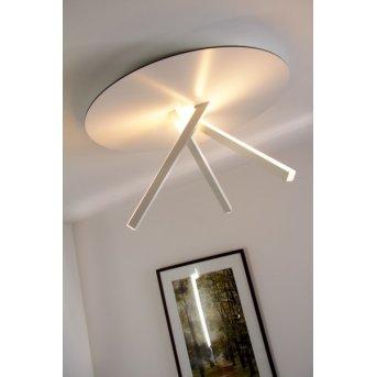 Eva Luz Orion lampa sufitowa LED Biały, 3-punktowe