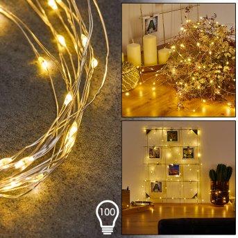 Sondrio Łańcuch  świetlny LED, 100-punktowe