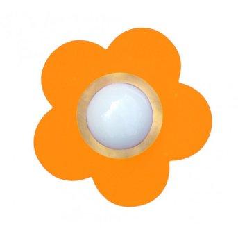 Waldi Fleur petit lampa sufitowa Pomarańczowy, 1-punktowy