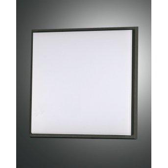Fabas Luce Desdy Lampa Sufitowa zewnętrzna LED Czarny, 1-punktowy