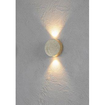 Escale SUN lampa ścienna LED Złoty, 2-punktowe