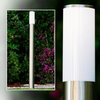 Caserta zewnętrzna lampa stojąca Stal nierdzewna, 1-punktowy