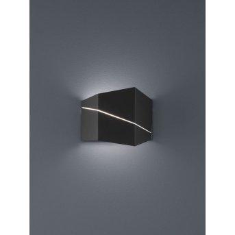 Trio ZORRO Lampa ścienna LED Czarny, 1-punktowy