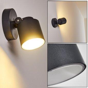 Zewnętrzny kinkiet Apenrader LED Antracytowy, 1-punktowy