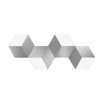 Grossmann GEO Oświetlenie ścienne i sufitowe LED Aluminium, 4-punktowe