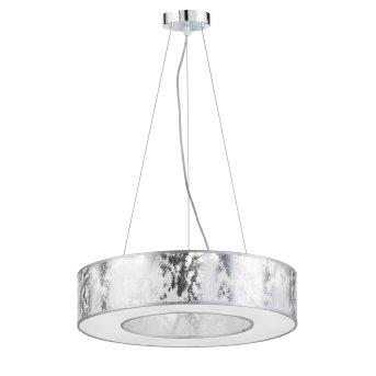Wofi LEIKA Lampa Wisząca LED Srebrny, 1-punktowy