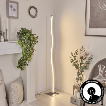 Soyo Lampa Stojąca LED Nikiel matowy, 1-punktowy