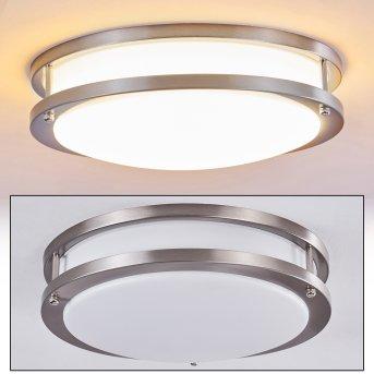 Sora Lampa Sufitowa LED Nikiel matowy, Biały, 1-punktowy