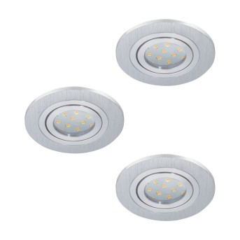Eglo AREITIO Oprawa wpuszczana LED Aluminium, 3-punktowe