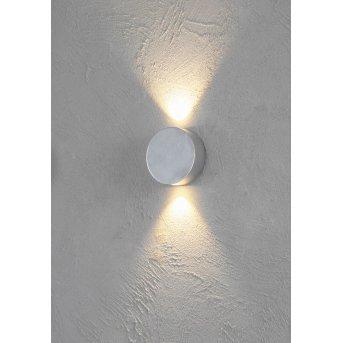 Escale SUN lampa ścienna LED Aluminium, 2-punktowe