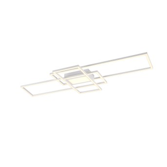 Trio Irvine Lampa Sufitowa LED Biały, 1-punktowy, Zdalne sterowanie
