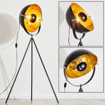 Saturn Lampa Stojąca Czarny, 1-punktowy