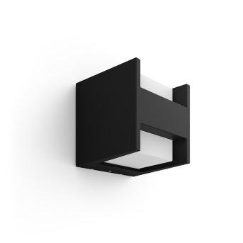 Philips Hue White Fuzo Lampa ścienna LED Czarny, 1-punktowy
