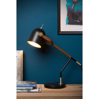 Lucide WAYLON Lampa biurkowa Czarny, 1-punktowy